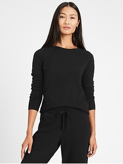 Petite Italian Wool-Blend Cropped Sweater