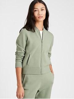Bomber Sweater Jacket