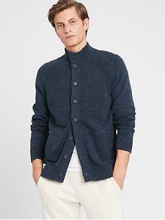 Organic Cotton Sweater Jacket