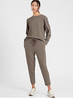 Pantalon d'entraînement en tissu éponge, Petite