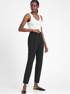 Performance Stretch Pleated Pant