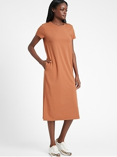 T-Shirt Dress with Side Slits