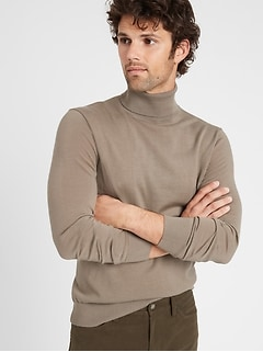 Merino Turtleneck Sweater in Responsible Wool