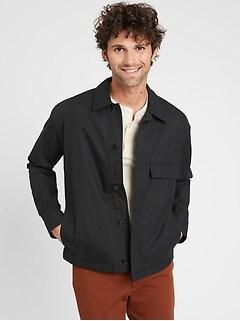 Water-Resistant Short Jacket