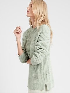 Petite Relaxed Sweater Tunic