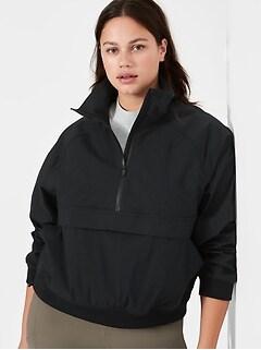 Petite Popover Rain Jacket