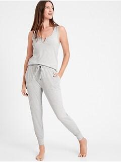 Ribbed Pajama Jogger