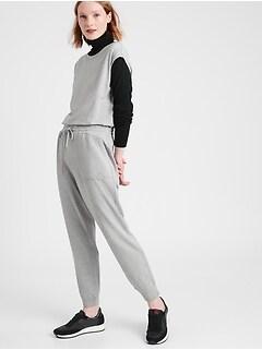 Petite Cozy Knit Jumpsuit
