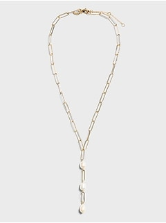 Freshwater Pearl Y-Necklace