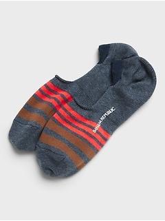 Stripe No-Show Sock
