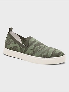 Recycled Knit Slip-On Sneaker
