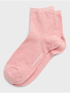 Heathered Crew Sock