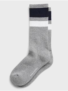 Two Tone Stripe Sock