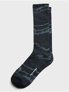 Digital Tie-Dye Sock
