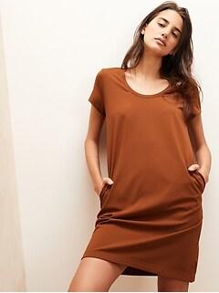 Soft Ponte T-Shirt Dress