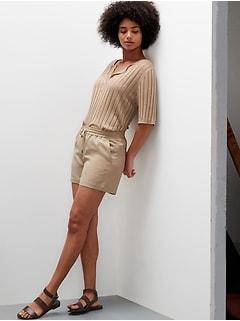 Petite TENCEL™-Linen Easy Short