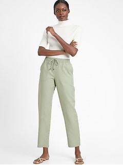 Petite Slim TENCEL™-Linen Pant