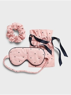 Eye Mask & Scrunchie Set