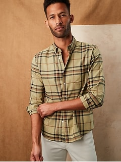 Untucked Slim-Fit Organic Cotton Shirt