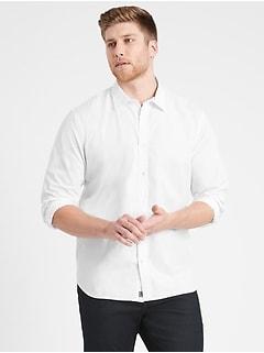Untucked Standard-Fit Organic Luxe Poplin Shirt