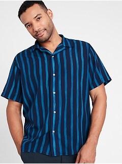 Standard-Fit Organic Cotton Resort Shirt