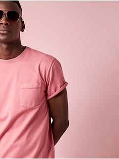 T-shirt ras du cou en coton SUPIMA® authentique