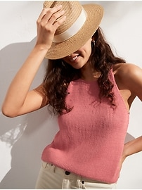 Organic Cotton Sweater Tank