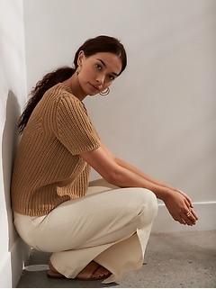 Organic Cotton Sweater Top