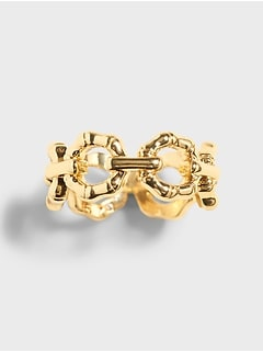 Bamboo Link Ring