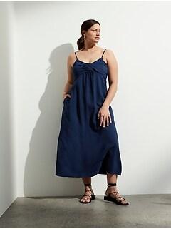 Petite Twisted Maxi Dress