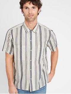 Standard-Fit Cotton Resort Shirt