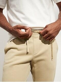 Pantalon de jogging en jersey bouclette