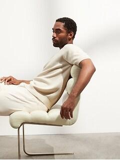 Organic Cotton Sweater T-Shirt