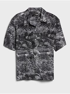Relaxed-Fit Organic Resort Shirt