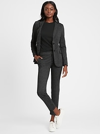 Unstructured 24-Hour Ponte Blazer