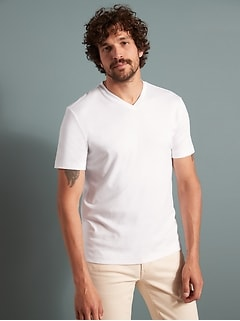 Luxury Touch Performance V-Neck T-Shirt