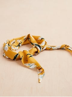 Print Diamond Neckerchief