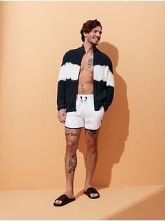 Tie-Dye Sweater Jacket