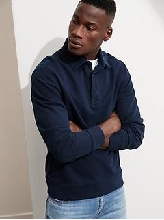 Indigo Rugby Sweatshirt