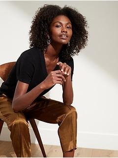Hemp-Cotton Sweater Top