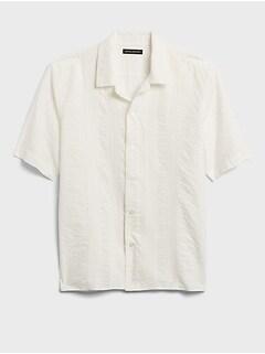 Pleated Resort Shirt