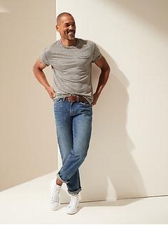Straight Cotton-Hemp Jean