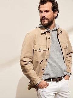Linen-Wool-Cashmere Sweater Hoodie