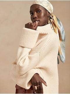 Oversized Merino-Cashmere Sweater