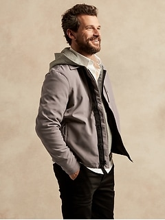 Veste-chemise souple hydrofuge