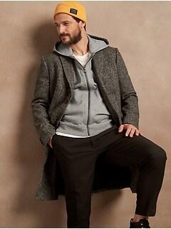 Organic French Terry Hoodie Sweatshirt