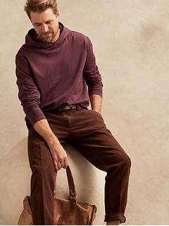 T-shirt à capuchon en coton SUPIMA® authentique