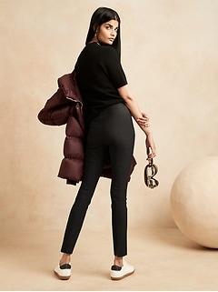 Pantalon de performance pliable, taille haute, coupe moulante, Petite