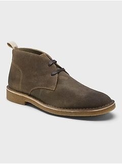 Brendt Leather Chukka Boot with Crepe Sole