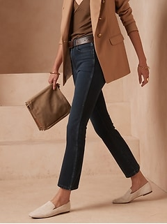 Petite High-Rise Boot Cropped Jean